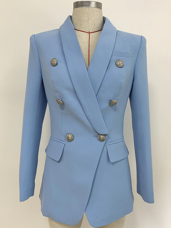 UNTITLED Double-Breasted Blazer