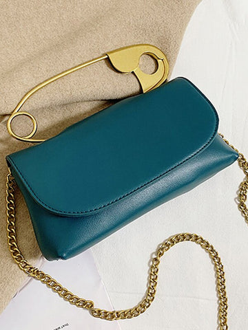 ALFILER Purse in Turquoise