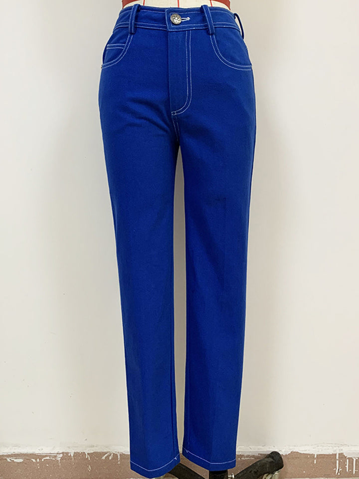 Blue Skinny Denim Jeans