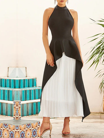 ADIANNE Layered Maxi Dress