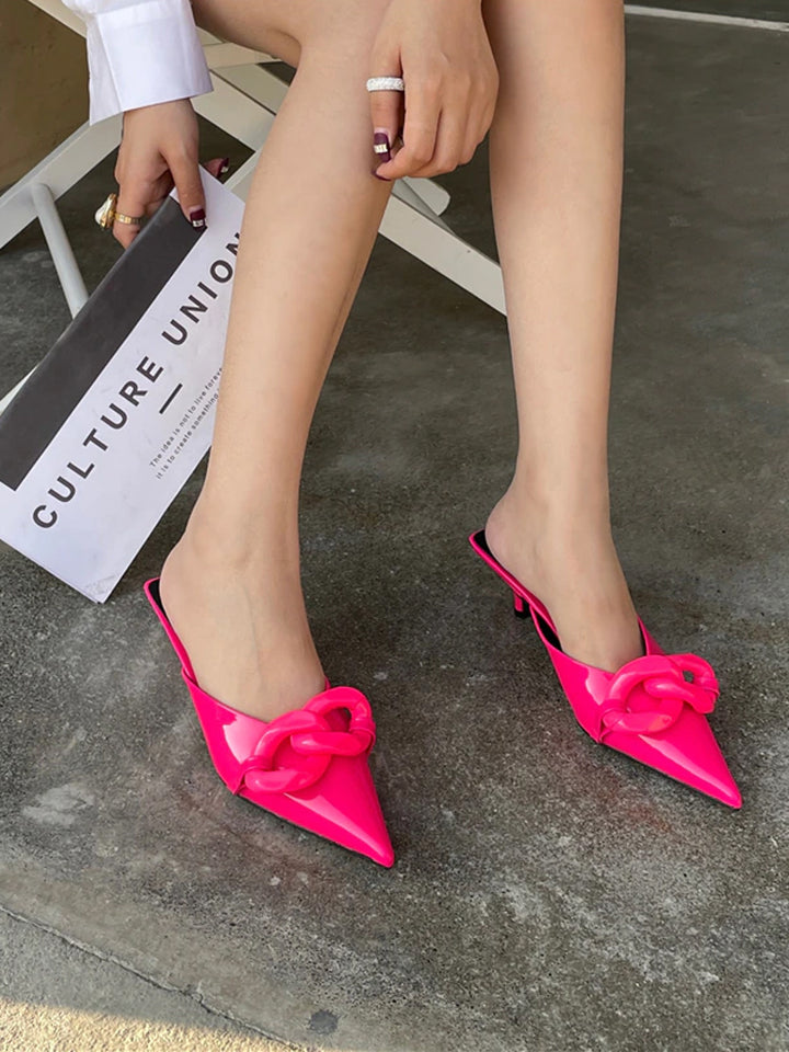 CANDY Pointed Toe Slides