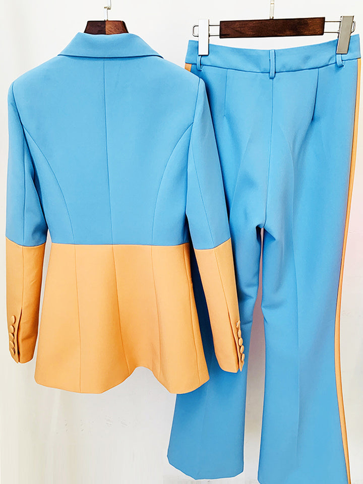 NUNUNU Polka-dot Mermaid Midi Dress