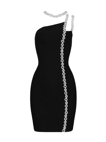ARDA Chains Mini Dress w Neckless