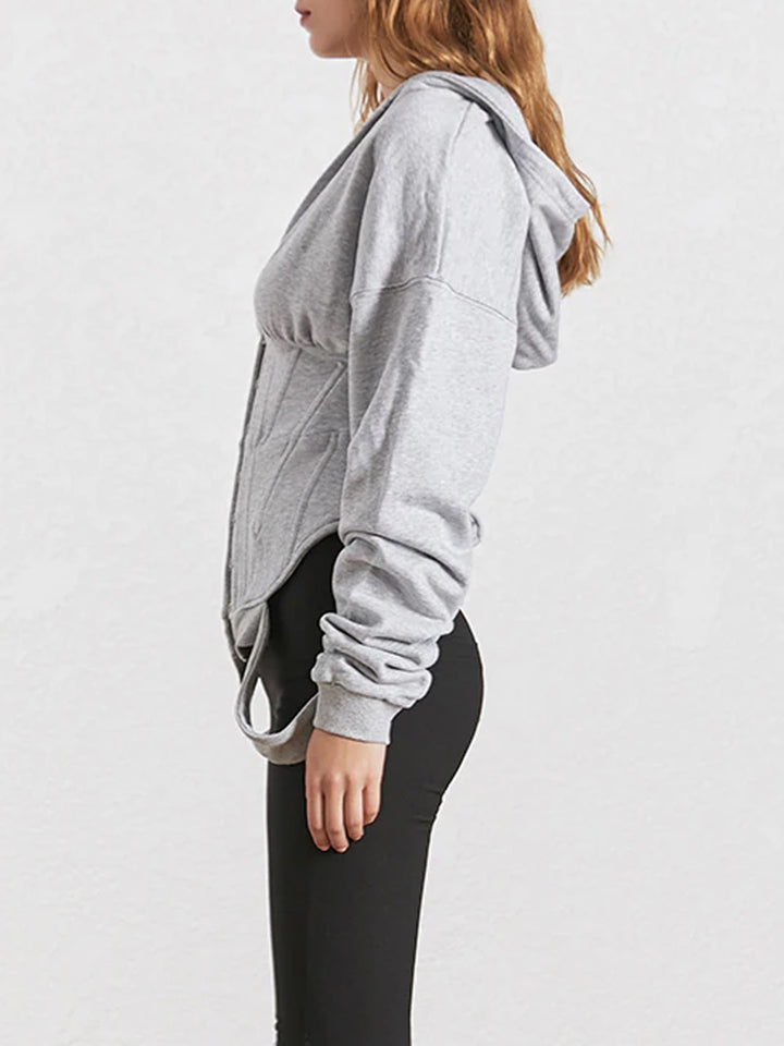 RAQUEL High-Waist Slim Sweatshirt