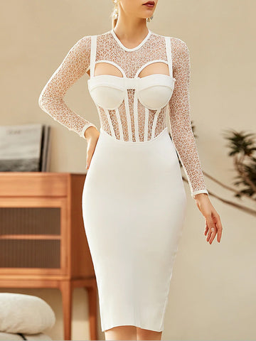 ORELIA Corset Dress