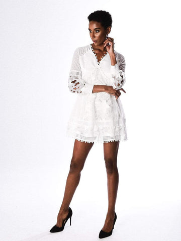 BENCCA Lace Hollow Out Dress