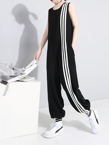 CORDELIA Striped Jumpsuit