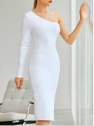 LINDY One Shoulder Dress