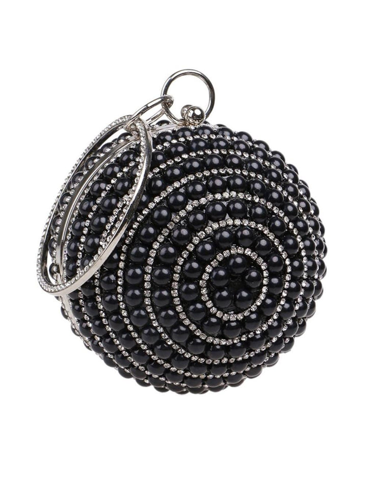 Costume-Pearl Beaded Clutch