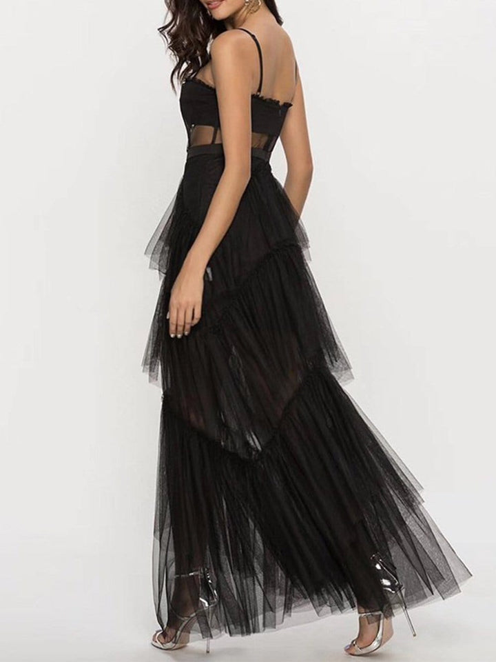 DIDA Tulle Dress in Black