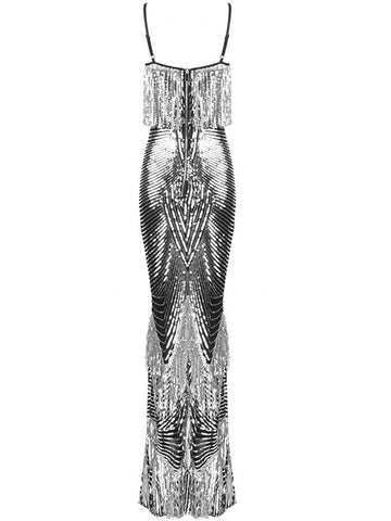 DORETTA Sequins Maxi Dress