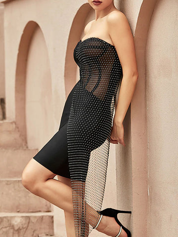 BEKE Strapless Mini Dress