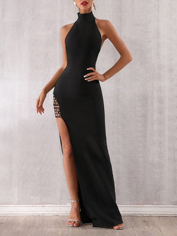 ANNABELLE Backless Maxi Dress