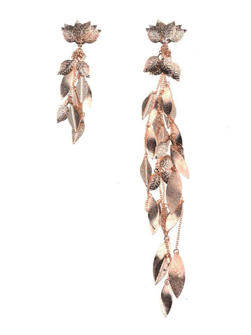 Laurel-Leaf Drop Earrings