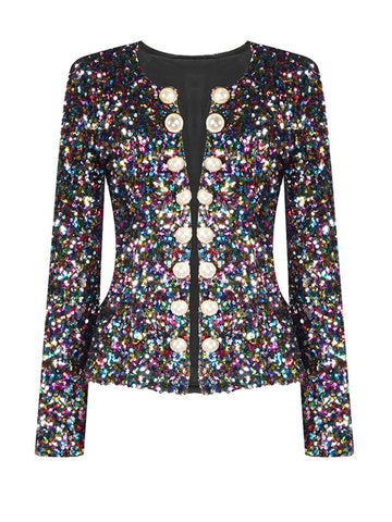 MANDALA Sequin Jacket