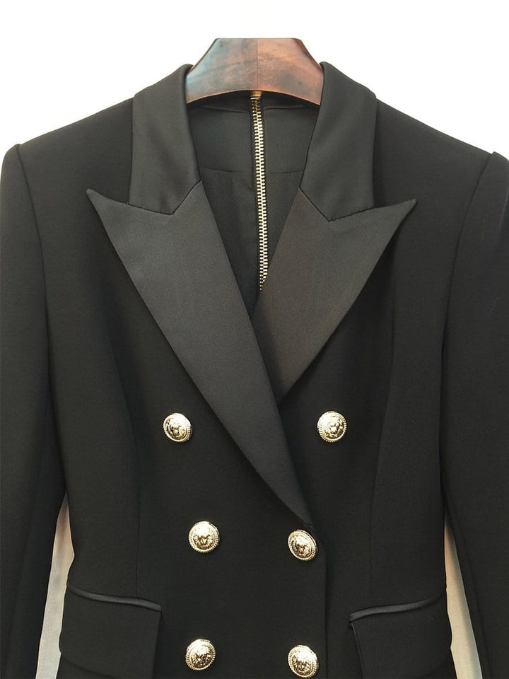 SALMA Double-Breasted Blazer Dress
