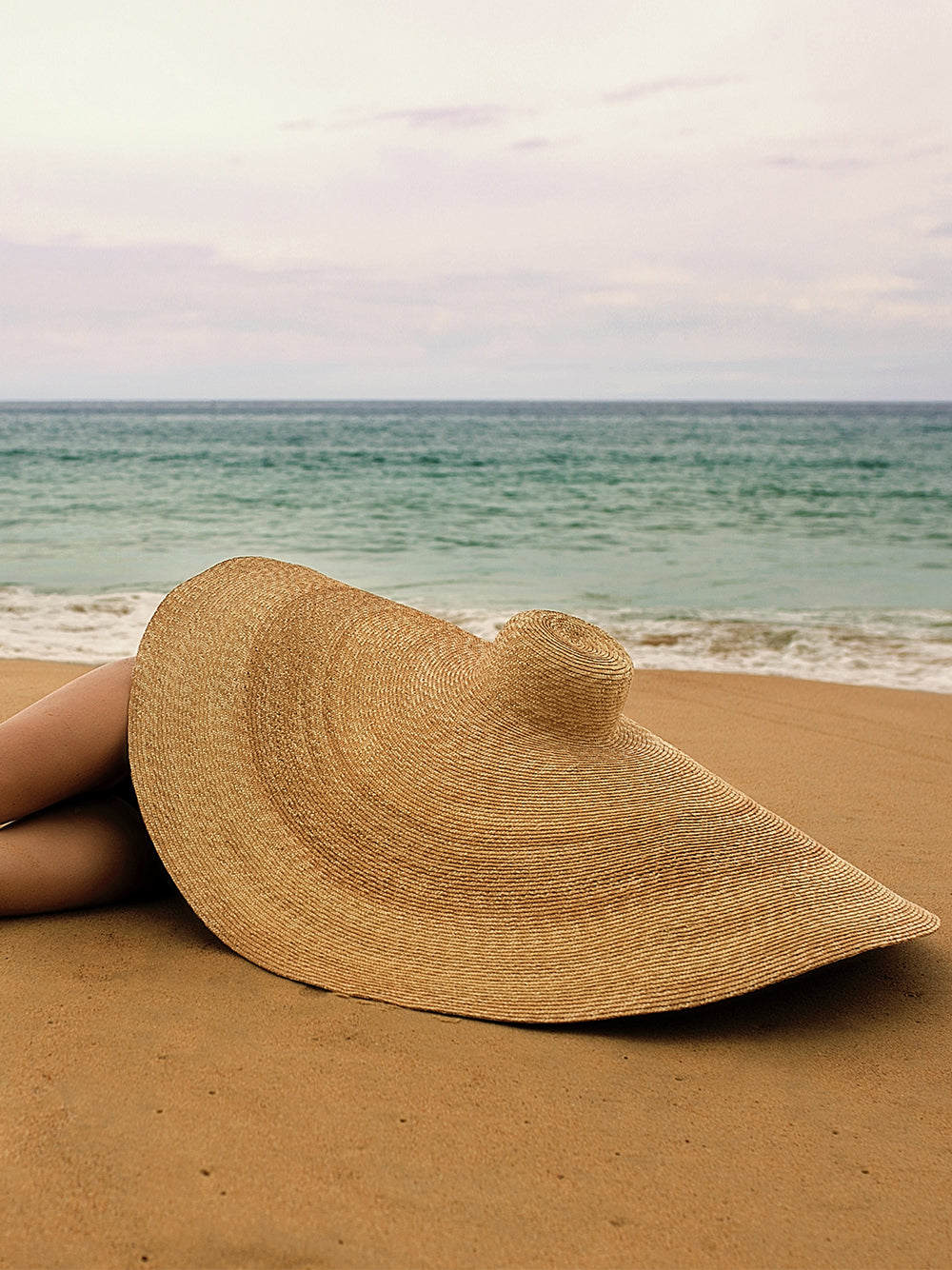 THERESA Oversized Straw-Hat