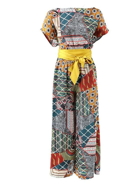 UMBRIA Sashed Jumpsuit