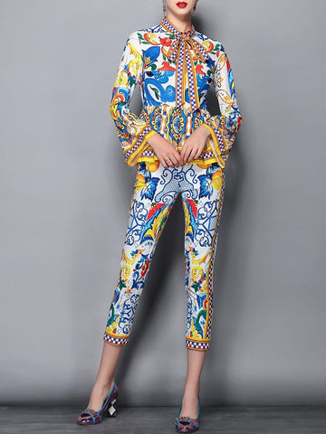 VEGAS Pantsuit - 2 Piece Set