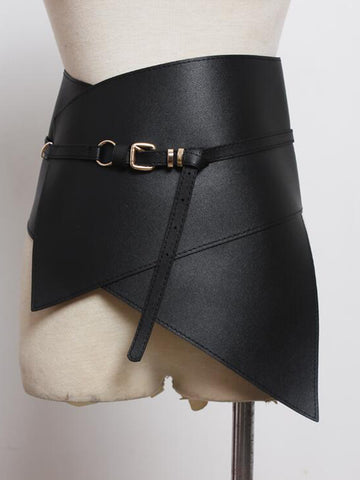 Waistband Leather Corset Belt
