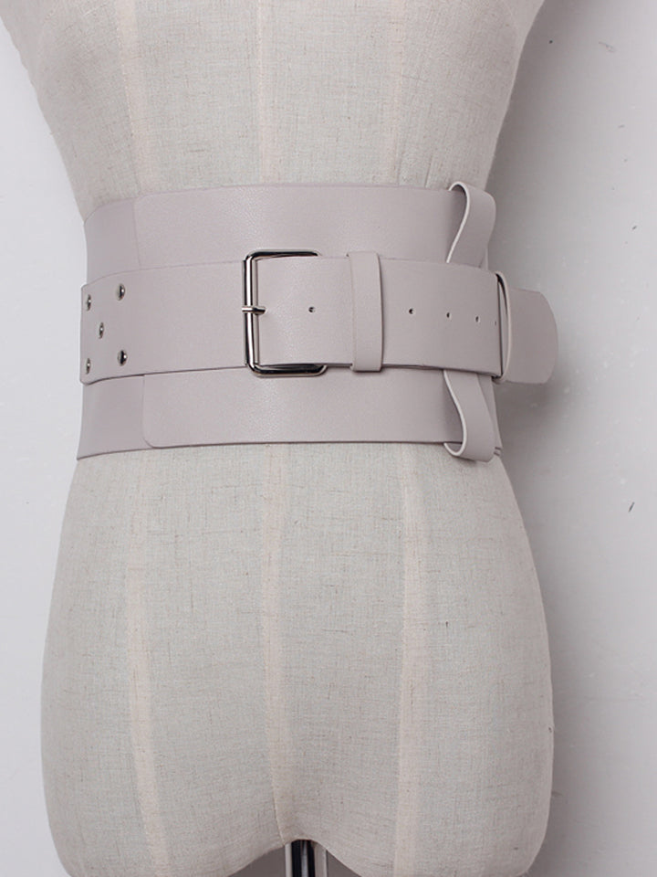 Leather Corset Waist Belt