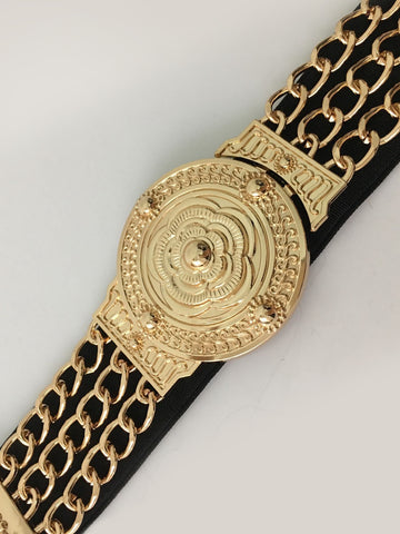 Gold Metal Waist Belt
