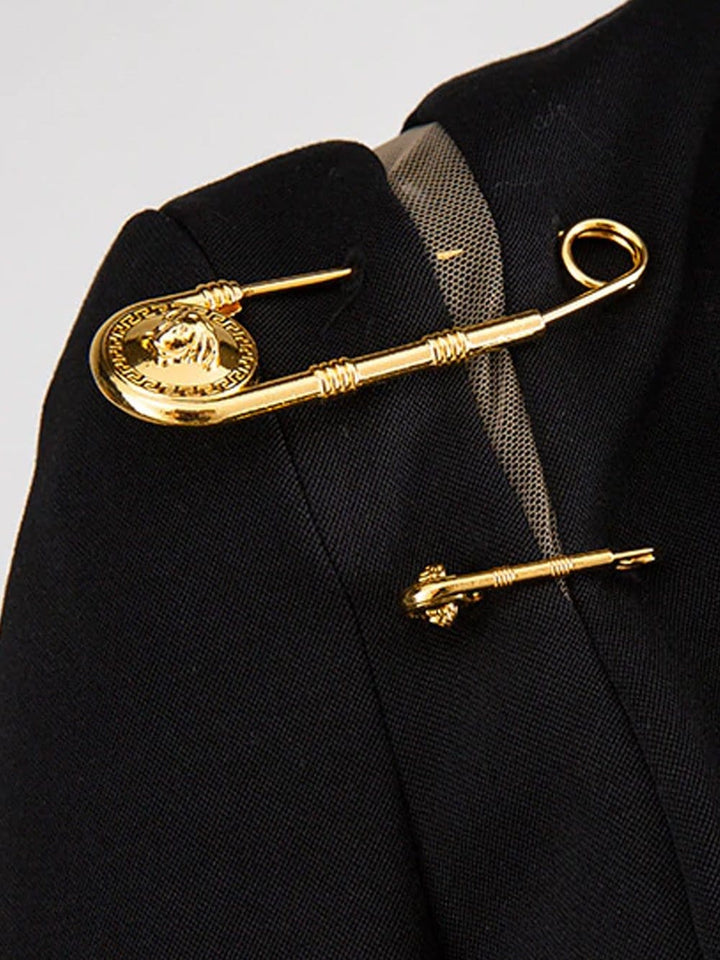 SCOTTIE Safety Pin Blazer