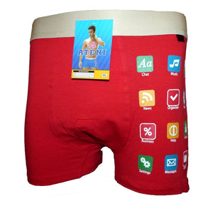 Sebix - Smartphone Boxer Shorts - Red