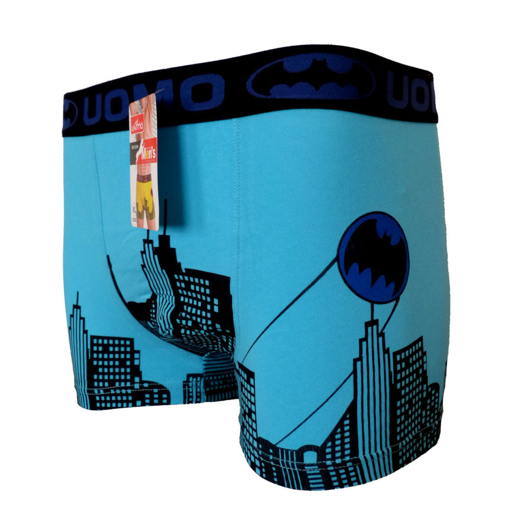 Sebix - Batman Cotton Boxer Shorts - Blue