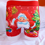 Funny Xmas Christmas Santa Mens Boxer Shorts Trunks