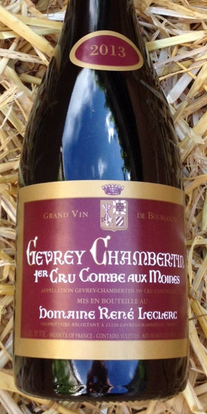 Gevrey Chambertin 2013 1st Cru Combe aux Moines