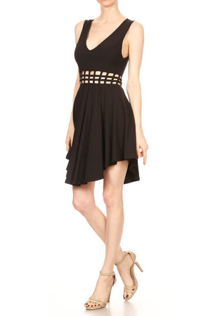 Lani Black Dress