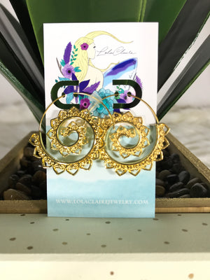 Soul Swirl Earrings