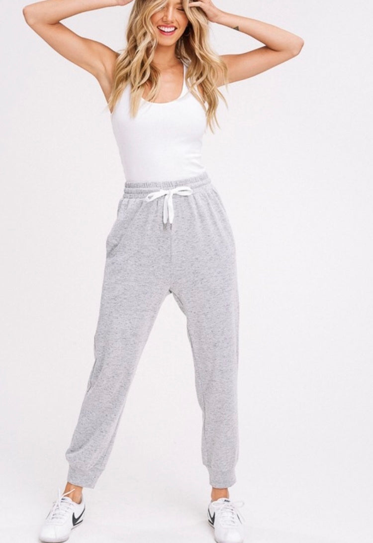 Soft Grey Joggers