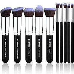 Makeup Brushes Premium Set (Silver Kit)