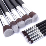 Set KABUKI MakeUp Brush (10 pièces)