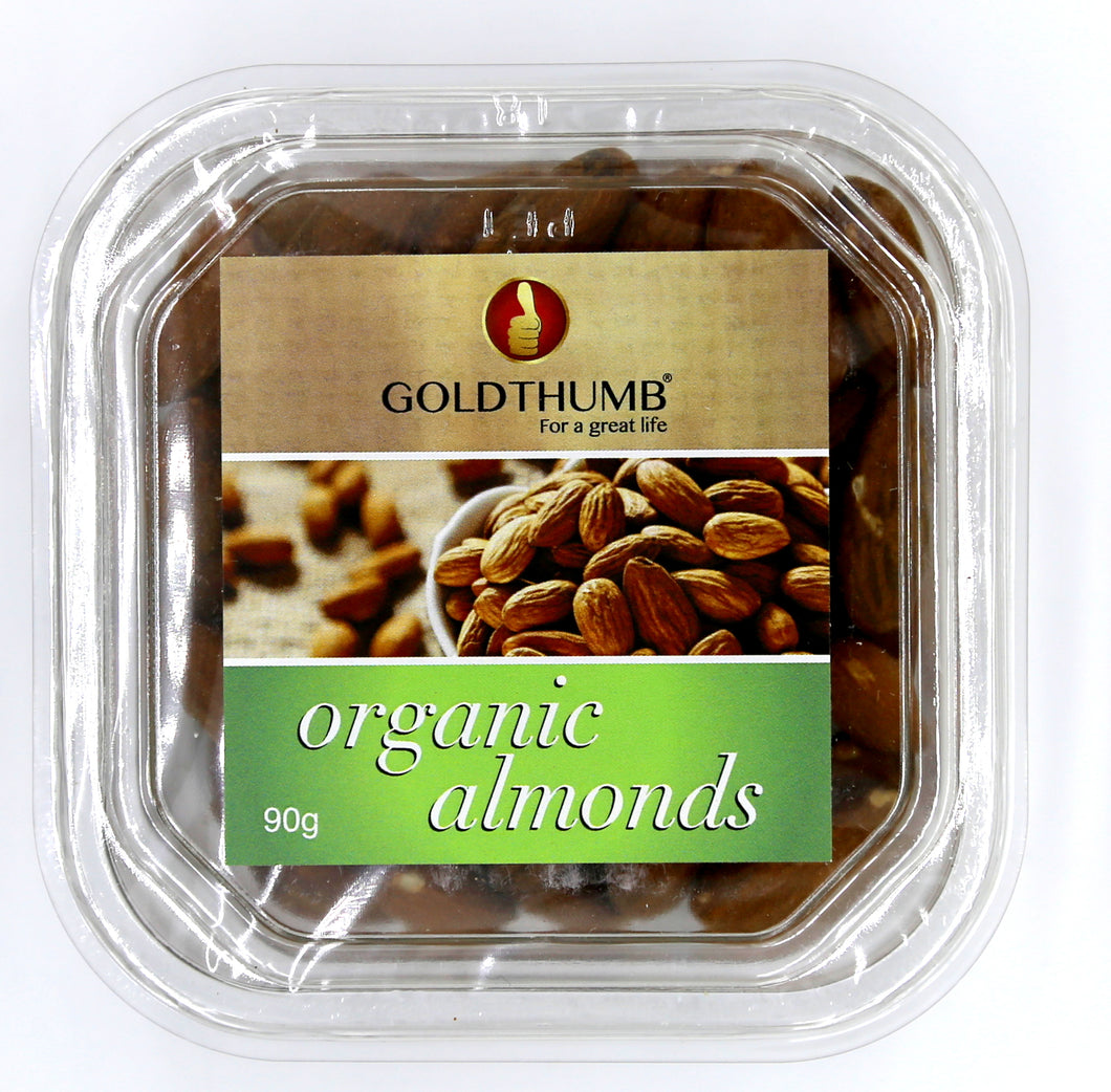 GOLDTHUMB Organic Almonds