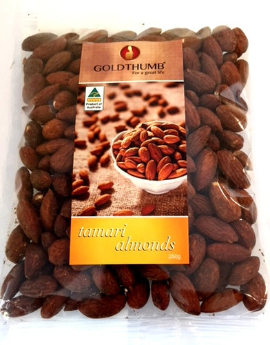 GOLDTHUMB Tamari Almonds