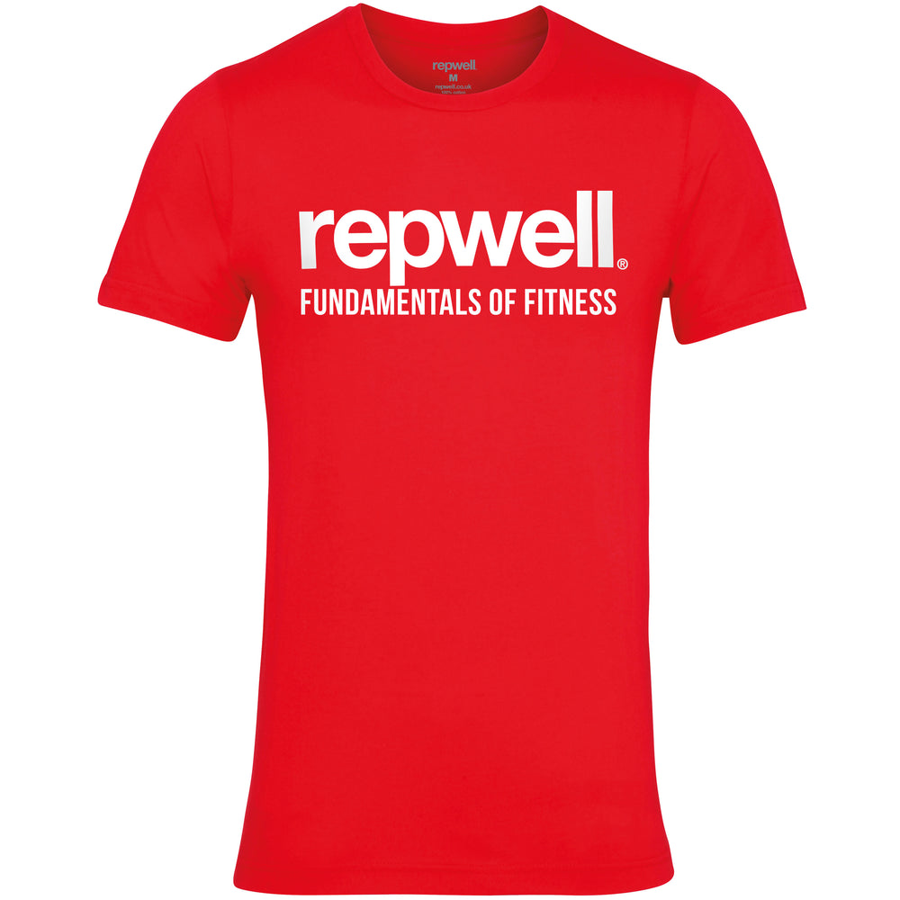 Mens Pro Tee Red / White