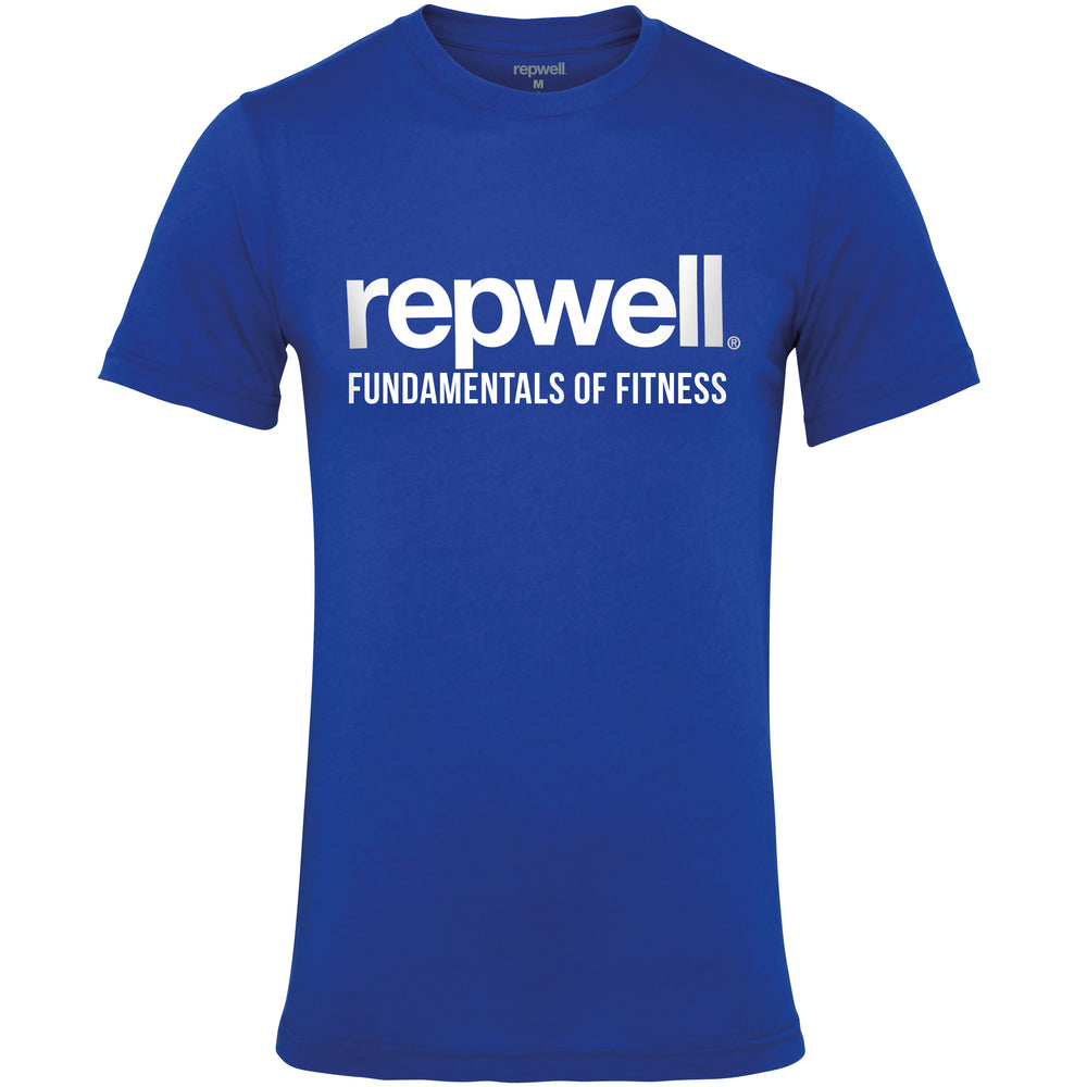 Mens Pro Tee Royal Blue / White