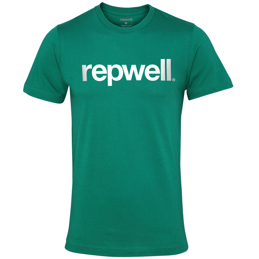 Womens Classic Tee Kelly Green / White
