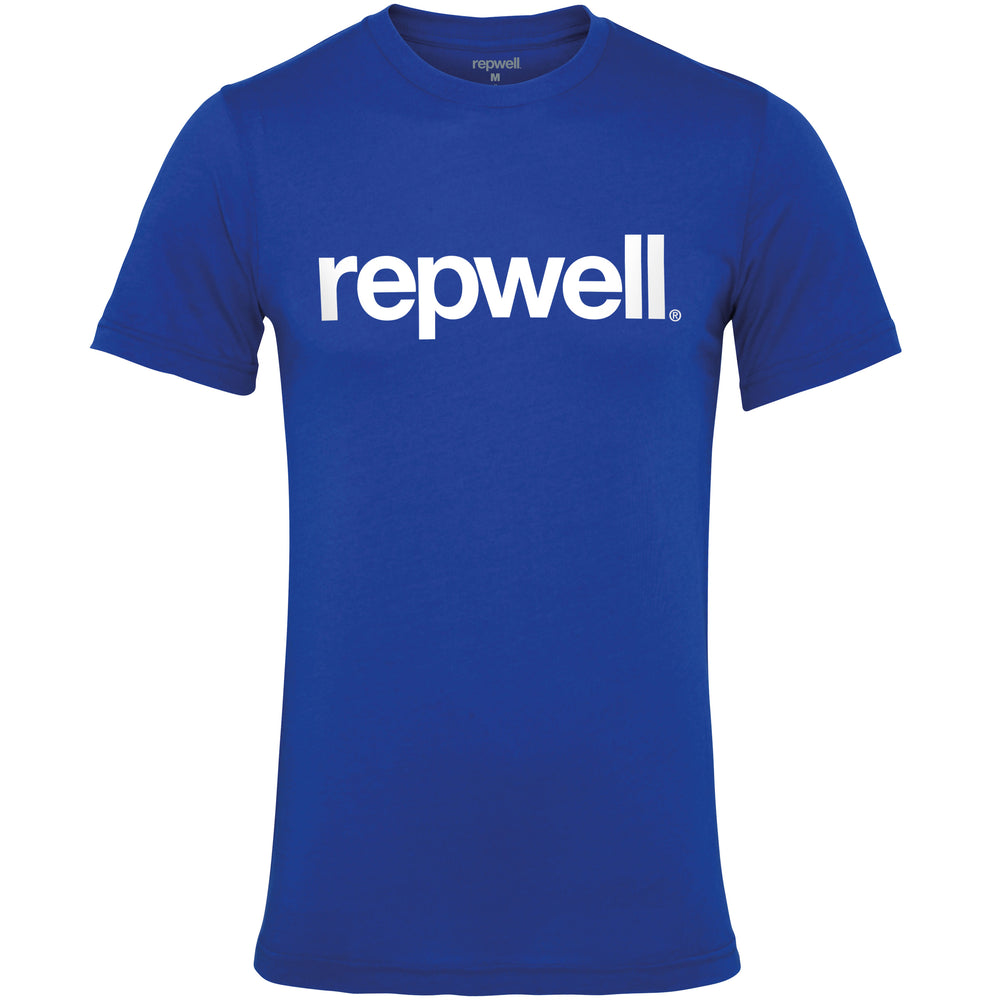 Mens Classic Tee Royal Blue / White
