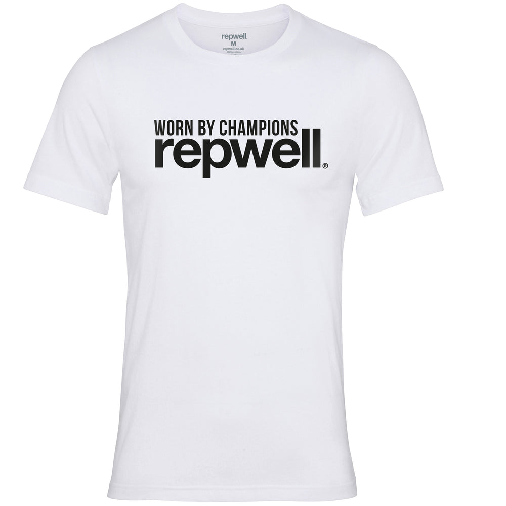 Womens Champion Tee White / Black