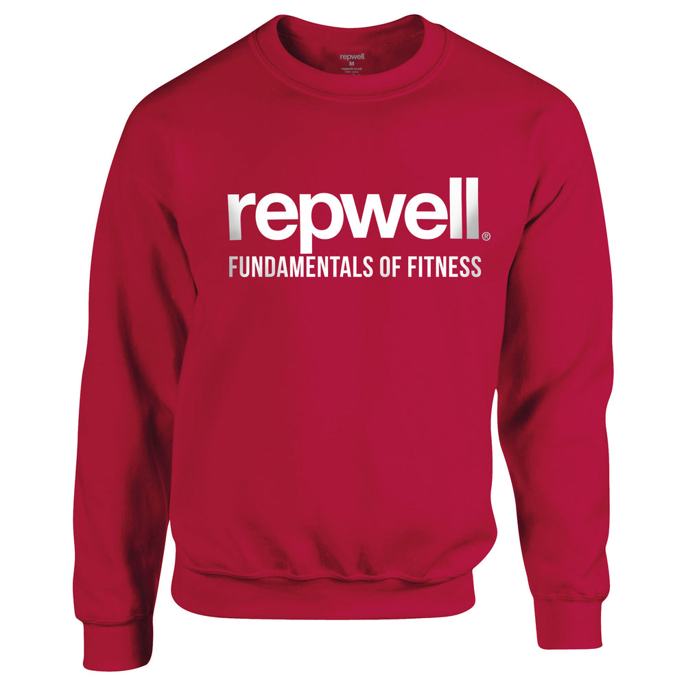 Mens Pro Sweat Top - Maroon / White