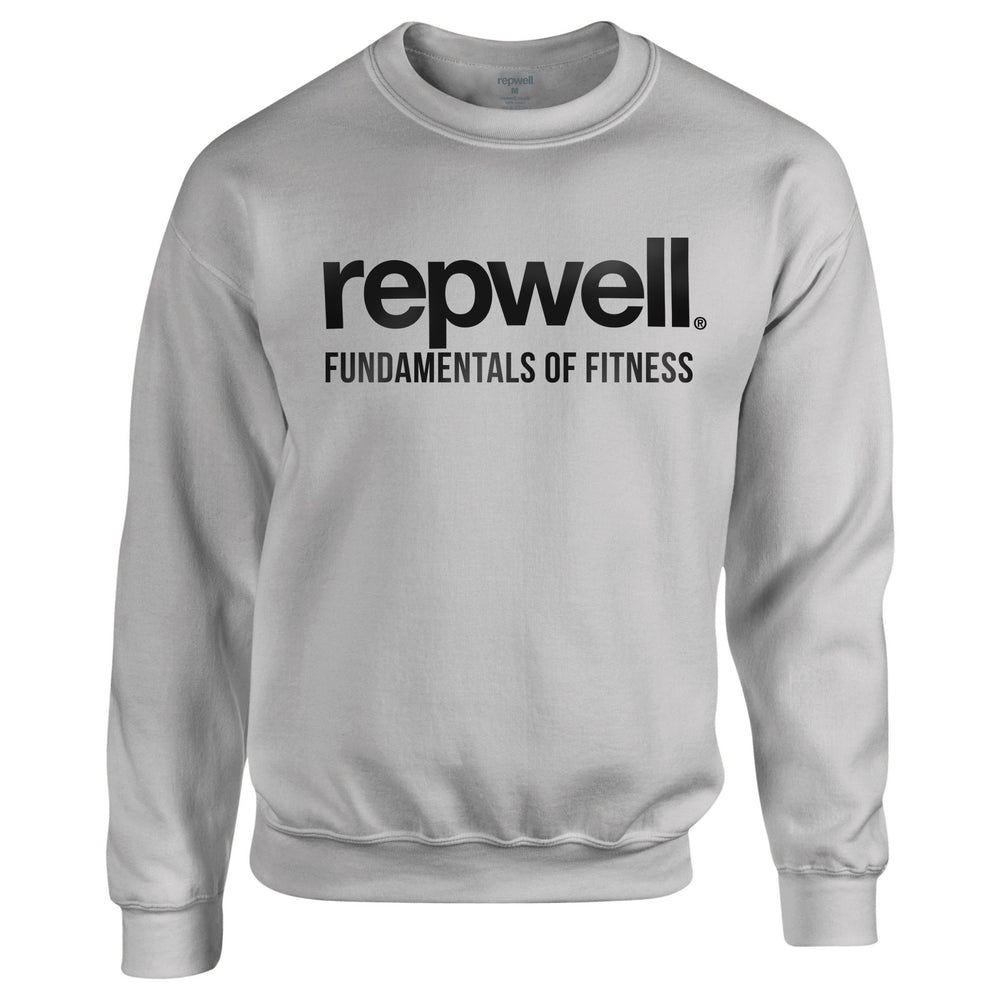Mens Pro Sweat Top - Sport Grey / White