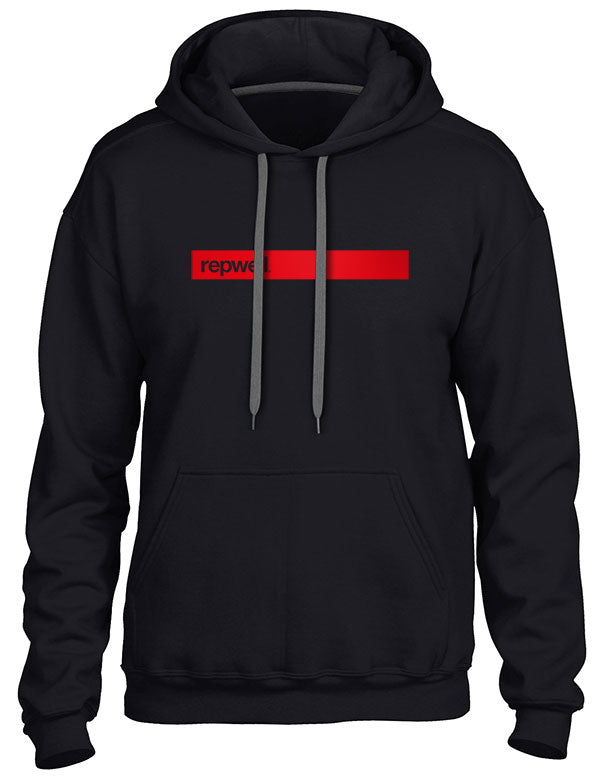 Womens repwell® 'Redline' Hoodie - Charcoal
