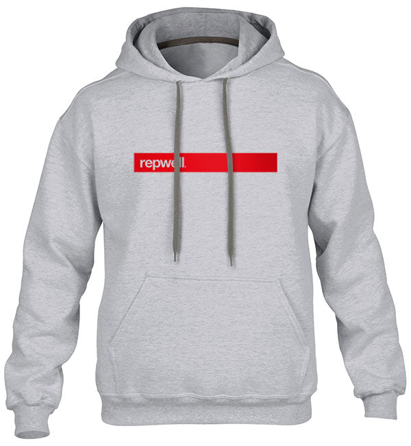 Mens repwell® 'Redline' Hoodie - Charcoal