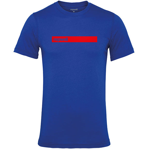 Mens repwell® 'Redline' tee - Royal Blue