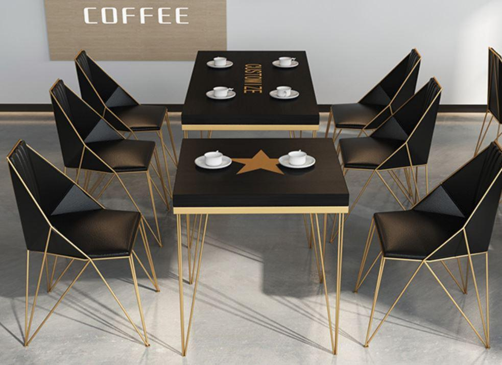 Camila Modern and Sleek Office Work Bench / Office Table / Dining Table / Cafe Table
