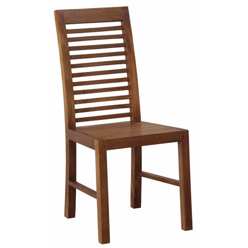 Denmark Dining Chair And Cushion Light Pecan Color TWS889CH 000